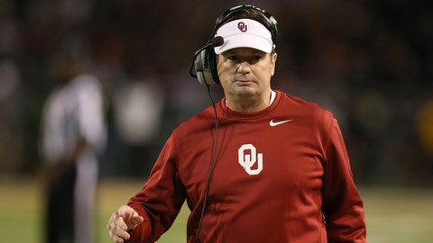 5. Oklahoma to win national title -- 12/1