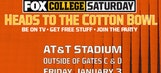 FOX Sports to live stream AT&T Cotton Bowl Classic through FOX Sports Go Mobile App