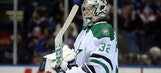 Stars start road trip with blowout loss to Isles