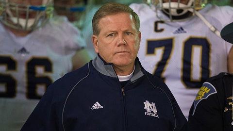 Notre Dame football coach