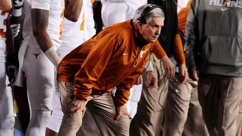 Texas football coach
