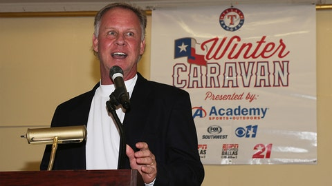 Texas Rangers Winter Caravan in Austin