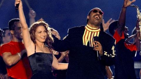 Gloria Estefan, Stevie Wonder, Big Bad Voodoo Daddy