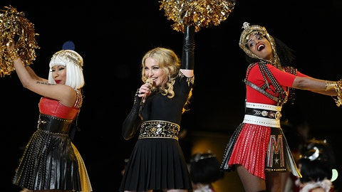 Madonna, LMFAO, Nicki Minaj, MIA and Cee Lo Green