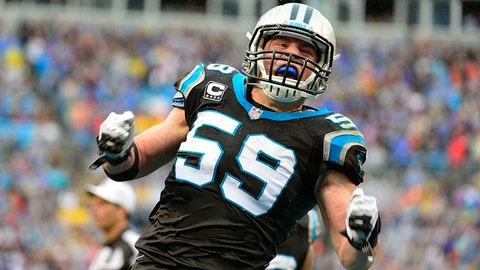 Luke Kuechly, LB, Carolina