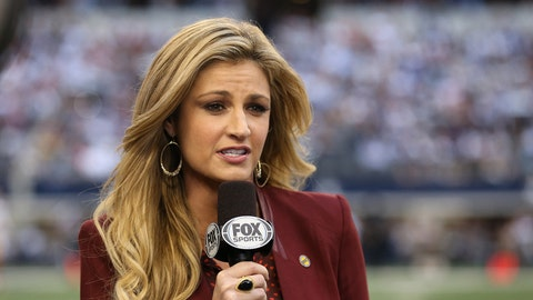 Who will be seen first on TV after kickoff?