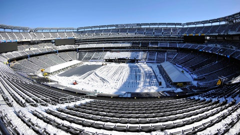 Will it snow during the game?