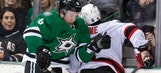 Stars' homestand ends on downer with OT loss to Devils