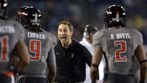 Kliff Kingsbury, Texas Tech