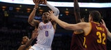 Thunder fall to Cavaliers, lose third straight