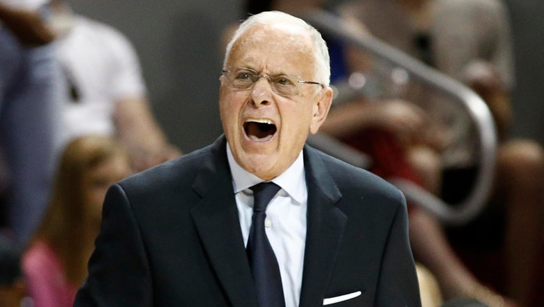 SMU gets postseason ban, coach Larry Brown suspended by NCAA
