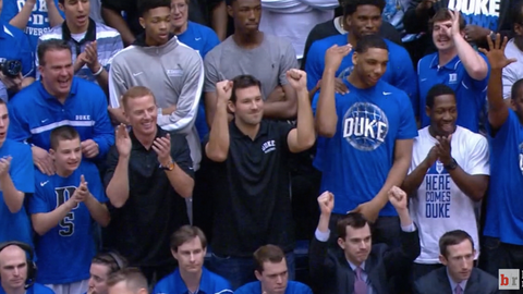 Tony Romo & Jason Garrett - Duke Blue Devils