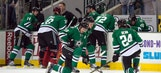Scene at Stars game Monday night was somber, surreal