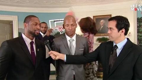 LeBron James, Michelle Obama