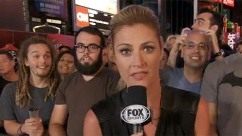 FOX Sports' Erin Andrews