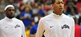 Anthony Davis shares special relationship with LeBron James