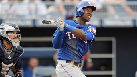 Beltre out of Rangers' lineup again after spraining ankle