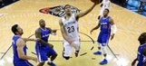 Pelicans F Anthony Davis leaves game with ankle injury