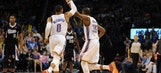Thunder fighting to finish season with No. 2 seed
