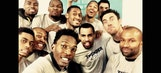 Kendrick Perkins responds brilliantly after Thunder leave him out of group photo