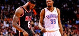 LeBron James: 'It would be great' if Kevin Durant won MVP