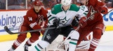 Stars rest key players in loss to Coyotes