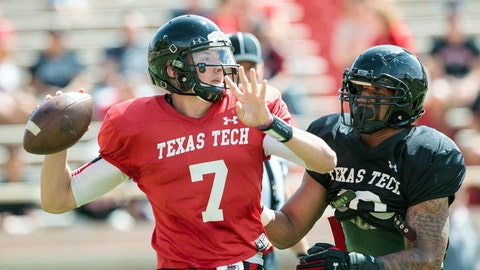 No. 2: Davis Webb, So., Texas Tech