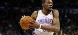 Durant's big night helps Thunder beat Pistons