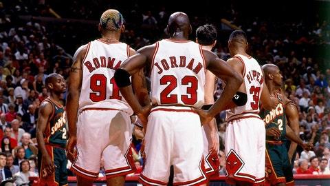 Chicago Bulls, 1995-96 - Regular season: 72-10