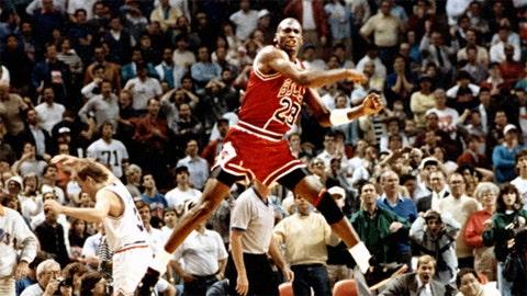 Michael Jordan, 1989 Bulls vs. Cavaliers