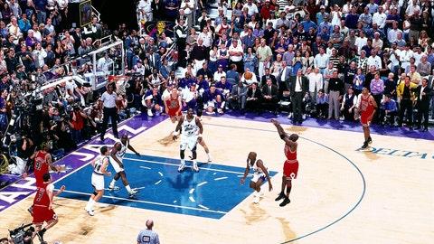 Michael Jordan, 1998 Bulls vs. Jazz