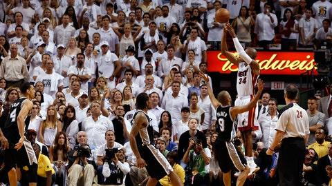 Ray Allen, 2013 Heat vs. Spurs