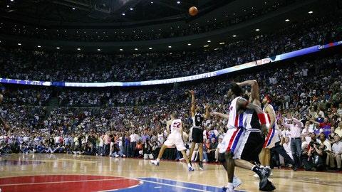 Robert Horry, 2005 Spurs vs. Pistons