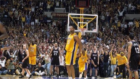Robert Horry, 2002 Lakers vs. Kings