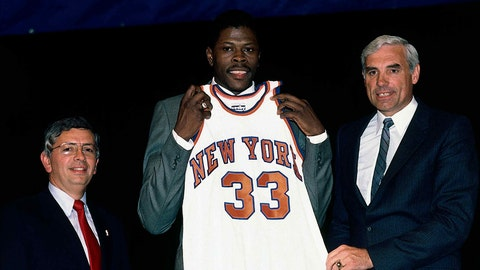 Knicks get No. 1 pick in controversial lottery - 1985