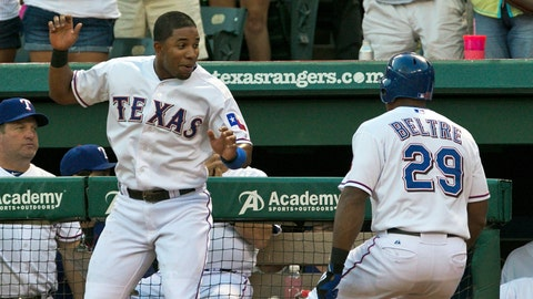 The Annoying Little Brother Bromance: Adrian Beltre & Elvis Andrus