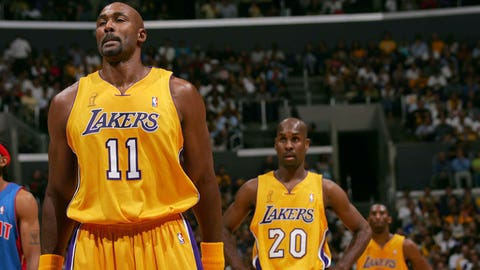 Karl Malone, Lakers, 2003