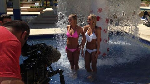 Dallas Cowboys Cheerleaders in Cancun