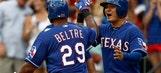 Tepesch, Beltre help Rangers end slide