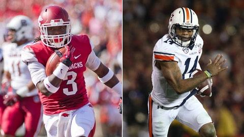Arkansas at No. 6 Auburn, Saturday, 4 p.m. ET, SEC Network
