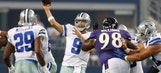 Romo looks comfortable in first game since back surgery