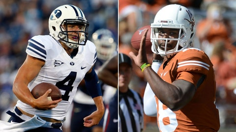 BYU at Texas, Saturday, 7:30 p.m. ET, FOX Sports 1
