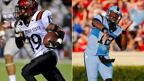 San Diego State at No. 21 North Carolina, Saturday, 8 p.m. ET, ESPN NEWS