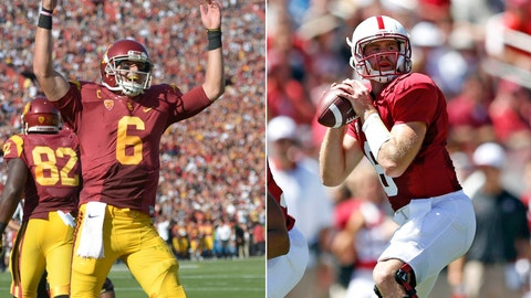 No. 14 USC at No. 13 Stanford, Saturday, 3:30 p.m. ET, ABC
