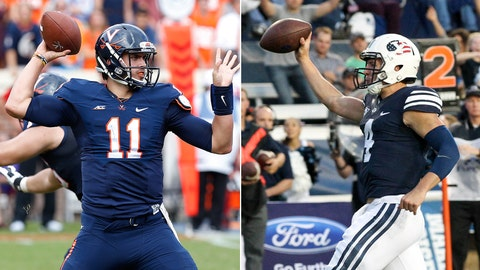 Virginia at No. 21 BYU, Saturday, 3:30 p.m. ESPN