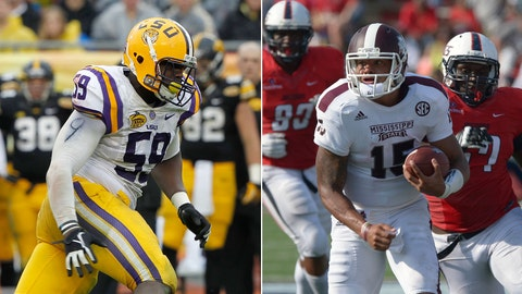 Mississippi State at No. 8 LSU, Saturday, 7 p.m. ET, ESPN