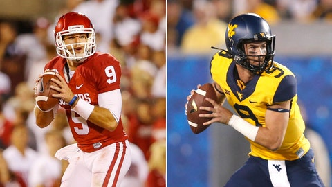No. 4 Oklahoma at West Virginia, Saturday, 7:30 p.m. ET, FOX