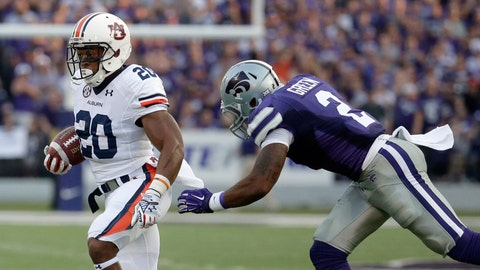 No. 5 Auburn 20, No. 20 Kansas State 14, Thursday
