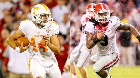 Tennessee at No. 12 Georgia, Saturday, 12 p.m. ET, ESPN