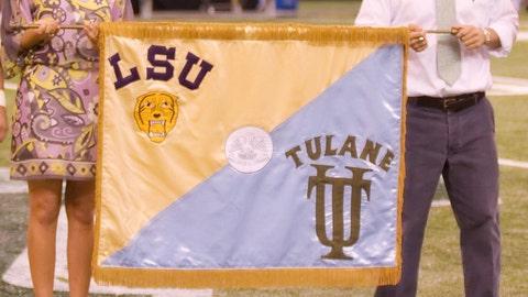 Battle for The Rag - LSU vs. Tulane